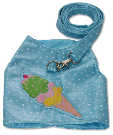 Blue Ice Cream Harness
