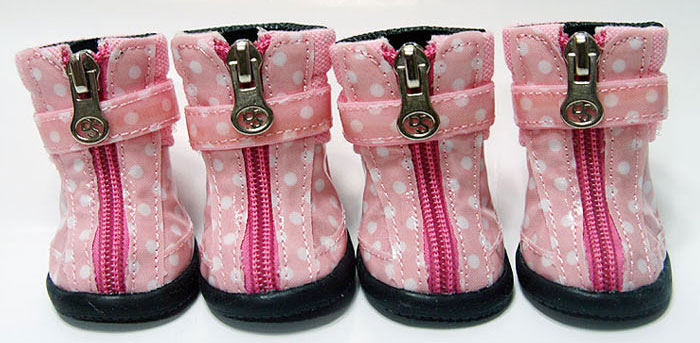 Dot Hound Hikers - Pink