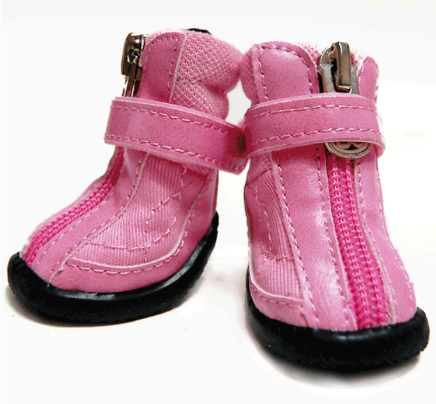 Pink Hiker Boots