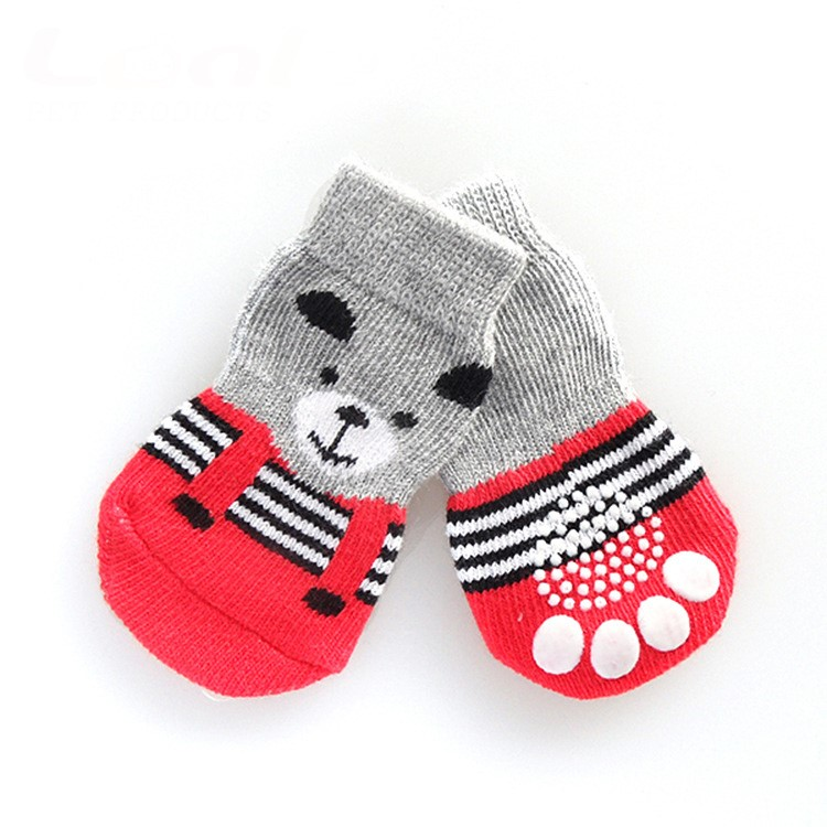 #Socks _Teddy Bear Red Socks