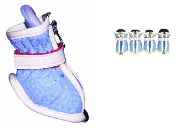 Baby Blue Doggy Stylin\' Boots