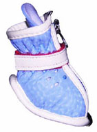 Baby Blue Doggy Stylin' Boots