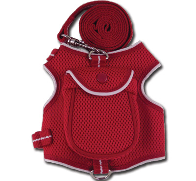 Backpack Harness Red