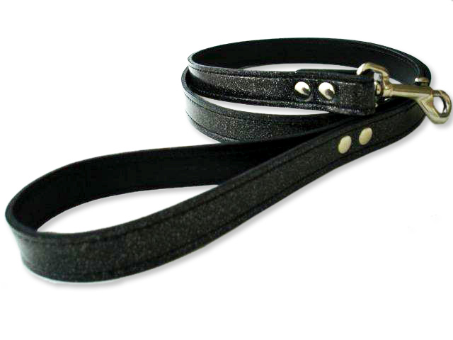Black Diamond Glitter Leash