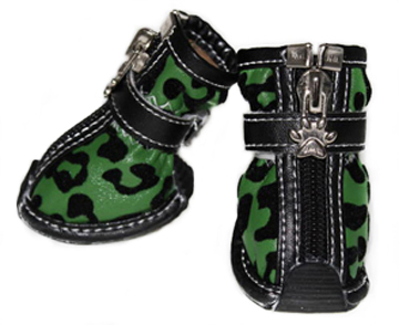 Camo Leopard Print Fashion Doggy Boots