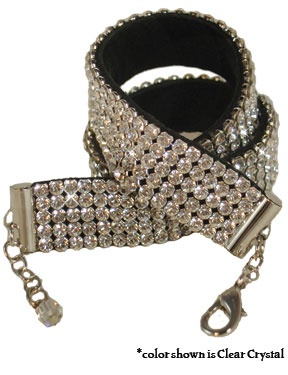 5-Row Swarovski Bracelet for Pet Parents