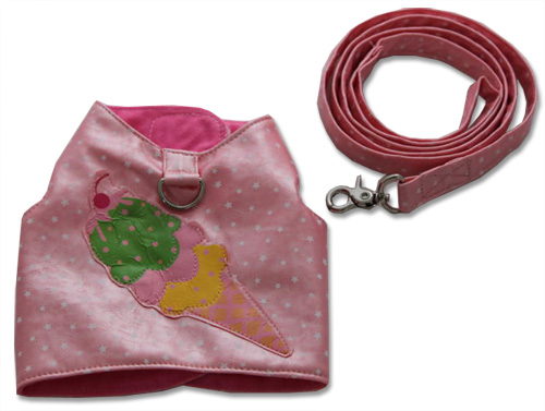 Pink Ice Cream Harness