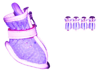 Lilac Doggy Stylin\' Boots