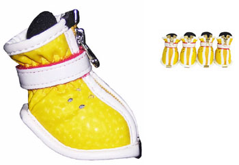 Yellow Doggy Stylin\' Boots