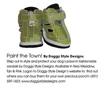Doggy Style Designs Summer Sandals